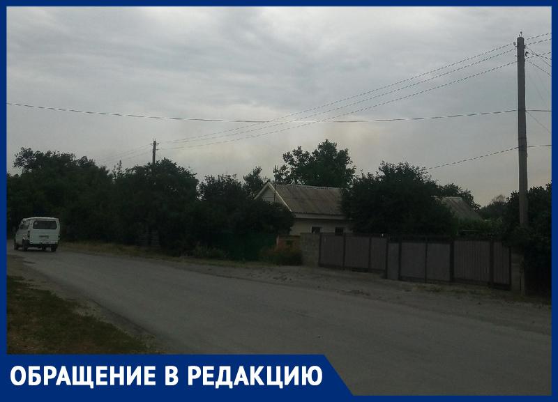Весь Морозовск задыхается от дыма со свалки, несмотря на дождь