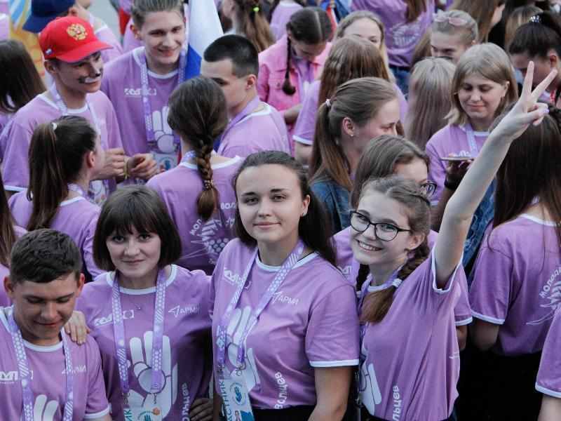 Молодежь из Морозовска посетила самый масштабный окружной форум «Молодая волна. Поколение добровольцев»