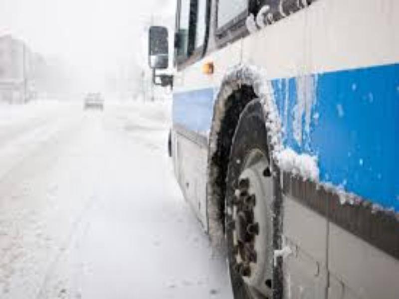 Автобусы 28 января в Морозовске будут задерживаться из-за погодных условий