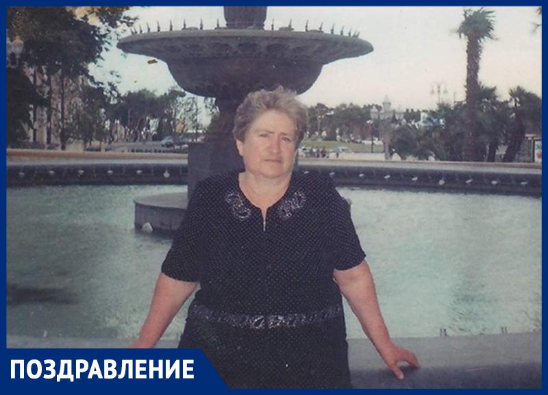 Лидию Гнеушеву с 75-летием поздравили самые родные
