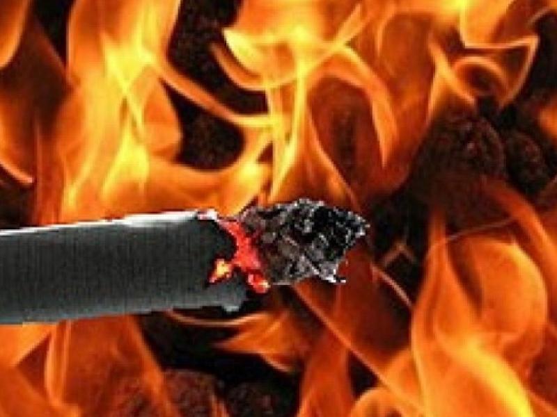Простая сигарета является реальным источником возгорания, - начальник пожарно-спасательного гарнизона Морозовска