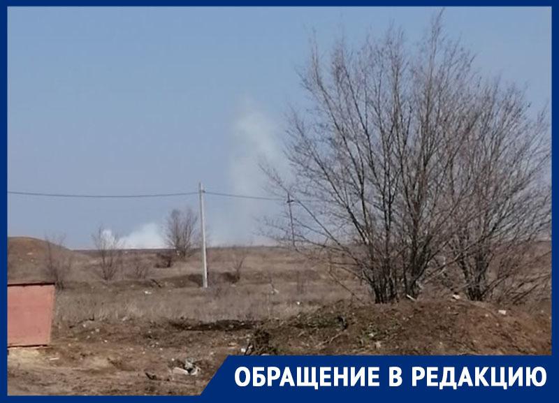 «Свалка опять горит»: жители улицы Тюленина в Морозовске захотели, чтобы к ним в гости приехал кто-нибудь из администрации или прокуратуры