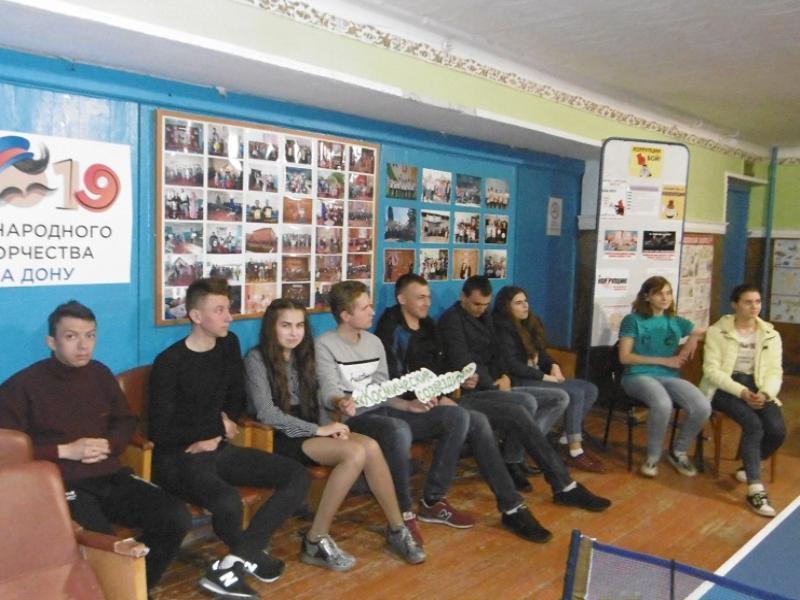 Беседу о созвездиях и тайнах вселенной провели с детьми в Доме культуры станицы Вольно-Донской