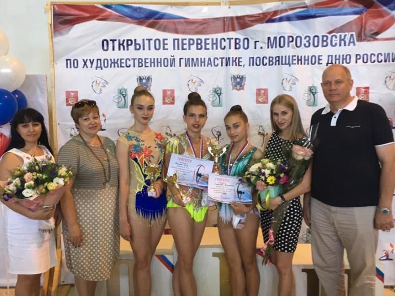 Около 200 гимнасток из области и страны съехалось в Морозовск на соревнования в честь Дня России