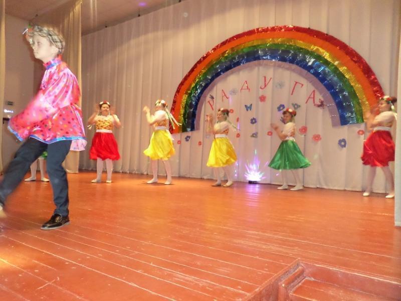 Танцевальный коллектив «Радуга» Грузиновского сельского поселения отметил пятилетний юбилей
