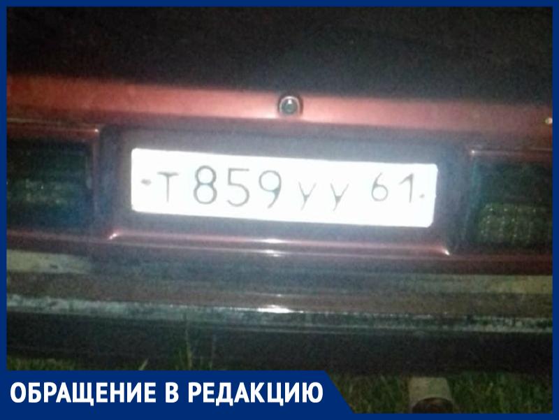 Горе-воришки в Морозовске бросили свой автомобиль на месте преступления
