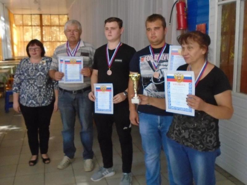 II место в чемпионате области заняли шахматисты из Морозовска