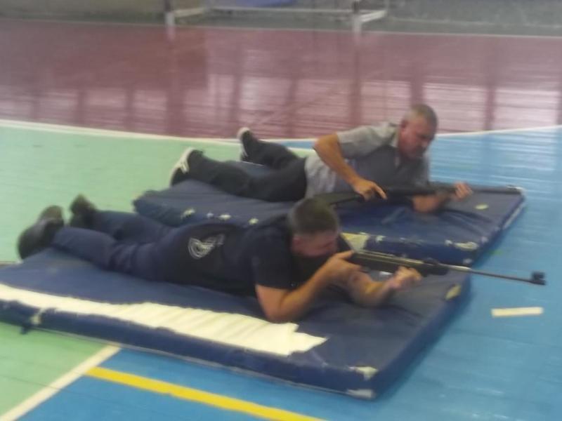 Команда ВОХР оказалась на первом месте в соревнованиях по стрельбе в Морозовске