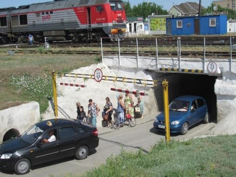 Тоннель в центре Морозовска будет закрыт в течение двух часов