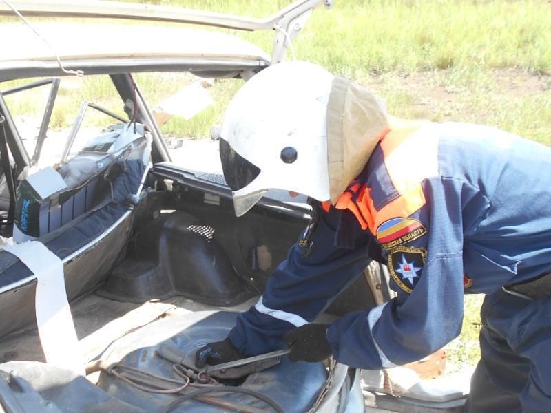 Проезжающие мимо водители сняли на видео последствия ДТП в Морозовском районе