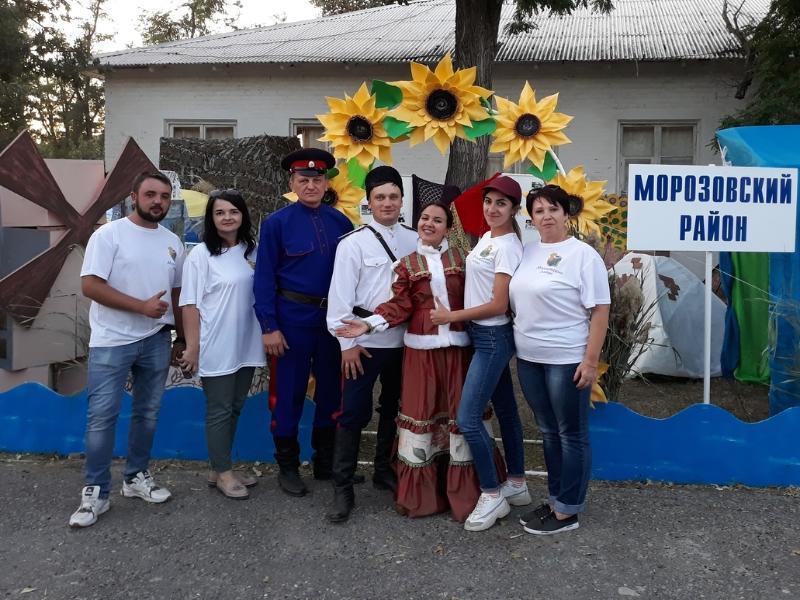 Дипломы I и III степени завоевала команда Морозовска на ежегодном областном слете работников культуры