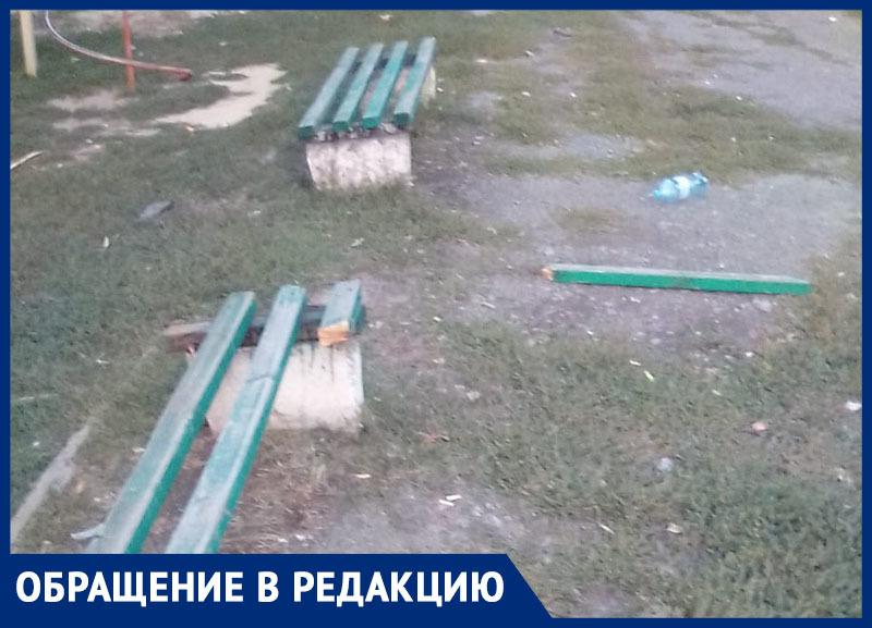 ЖД-парк весь в мусоре и траве, - морозовчане возмущены бездействием властей