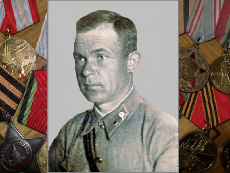 Иван Пристансков за прорыв блокады был награжден орденом Красной Звезды
