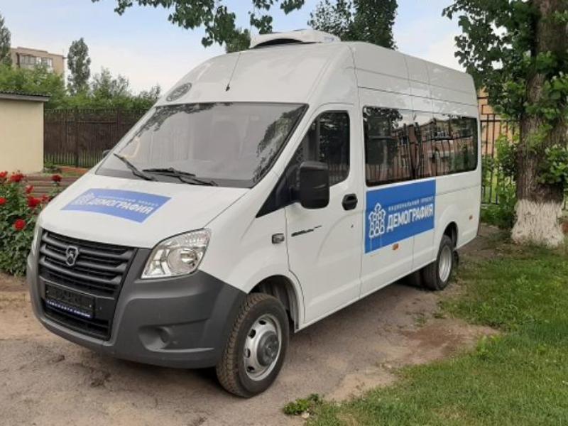 Новенький автобус «Газель NEXT» появился в Центре социального обслуживания Морозовска