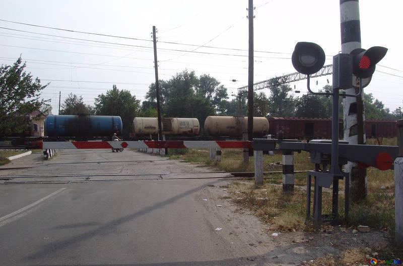 Ещё один переезд в Морозовске был раньше в районе кирпичного завода