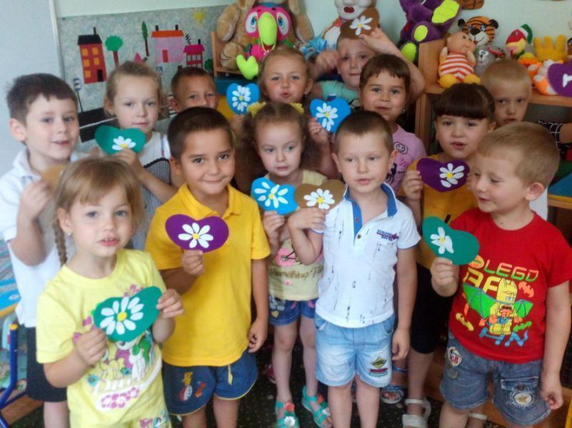 Сюрприз своими руками приготовили для родителей ко Дню семьи воспитанники детского сада «Солнышко»