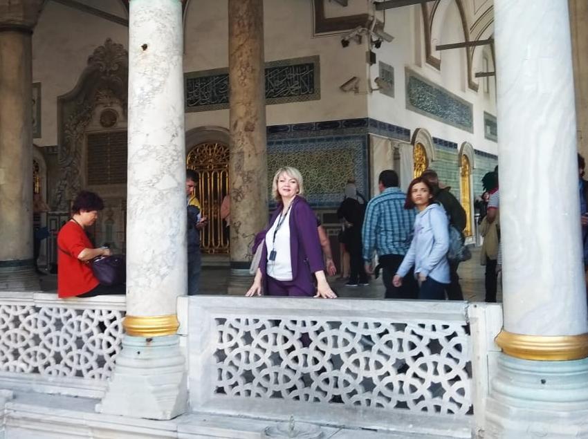Чудеса Топкапы - дворца Сулеймана Великолепного - показала на фото журналист «Блокнот Морозовск»