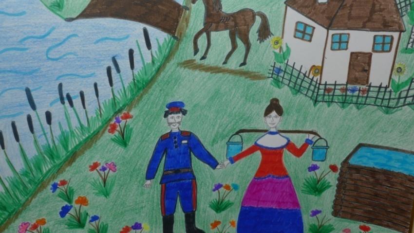 Рисунок на конкурс о нашем крае