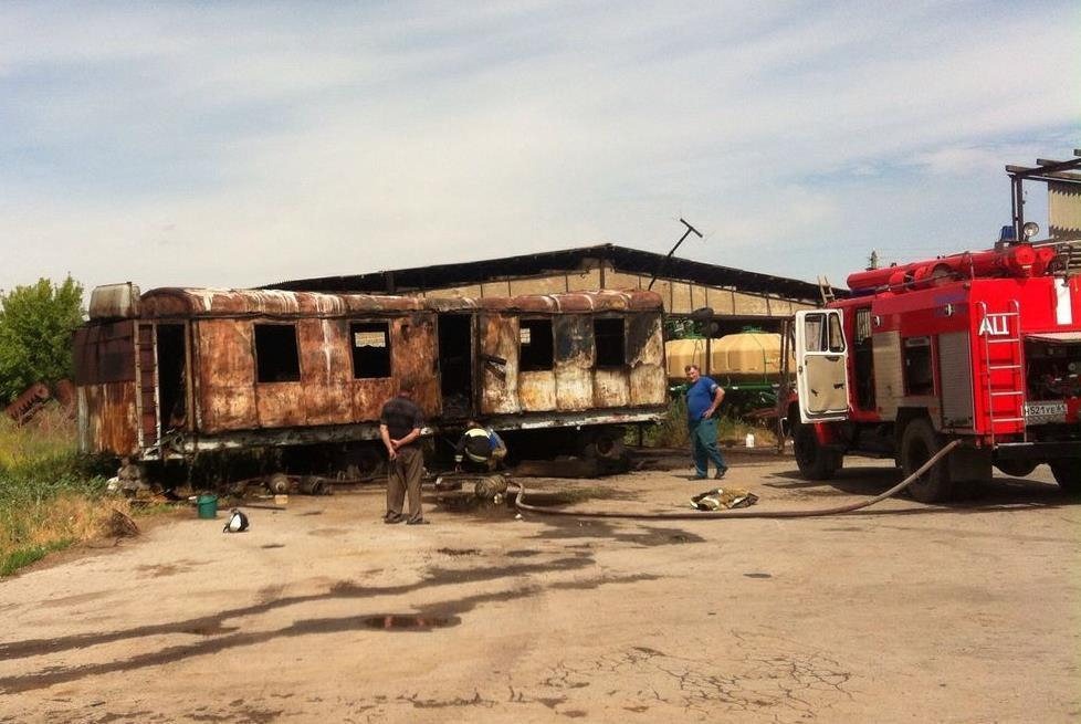 Спасатели МЧС оперативно потушили пожар в хуторе Морозов