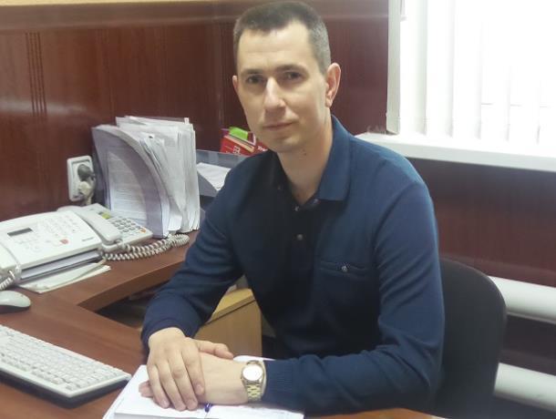 Начальник следственного отдела МВД Морозовского района поздравил коллег с профессиональным праздником