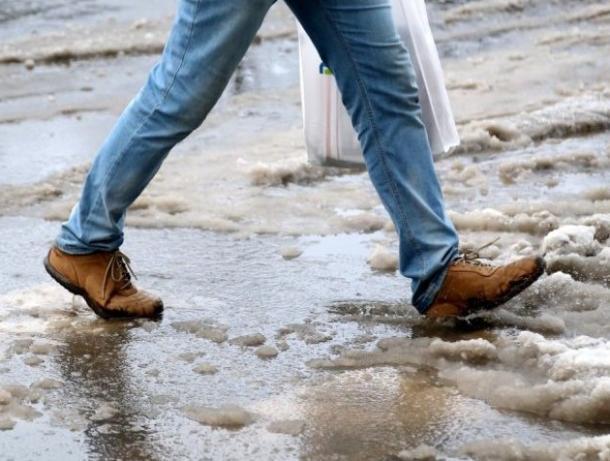 Дождь со снегом и два градуса тепла обещают морозовчанам в середине рабочей недели
