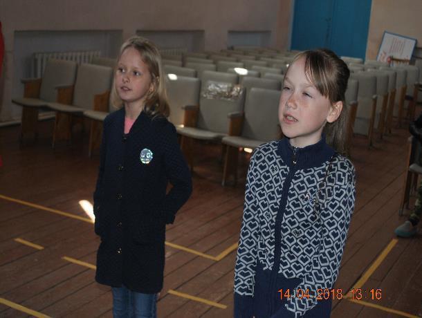 Детское караоке устроили в Вишневке