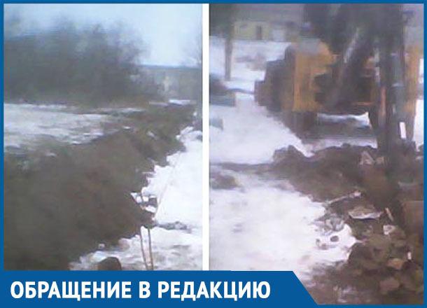 Вода пошла: в хуторе Вербочки экстренно проложили новый водопровод