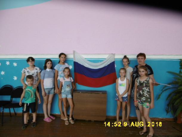 Тематический вечер «Мой любимый Триколор» прошел в доме культуры станицы Вольно-Донской