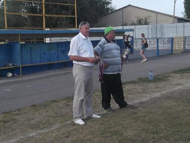 Сборную города с победой поздравил лично мэр Морозовска Юрий Соколовский