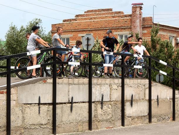 Первый велобатл в Морозовском районе состоялся в День молодежи
