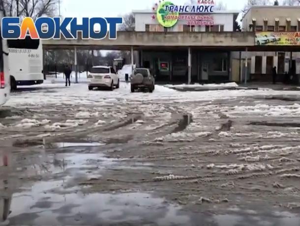 Даже в Морозовске чисто на вокзале: гостья из Краснодара возмутилась состоянием волгодонской привокзальной площади