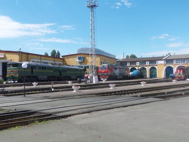 Кладезью истории оказалось локомотивное депо в Морозовске