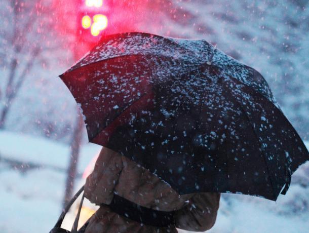 Морозовчан ожидает снежное воскресенье