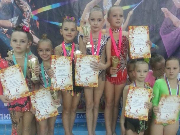 Гимнастки из Морозовска стали победителями турнира «Осенний листопад» в Краснодарском крае