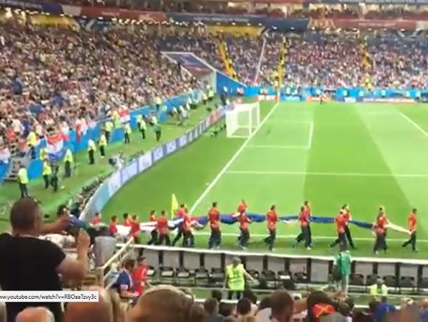 Читатель «Блокнота Морозовска» поделился видео и впечатлениями матча «Исландия - Хорватия»