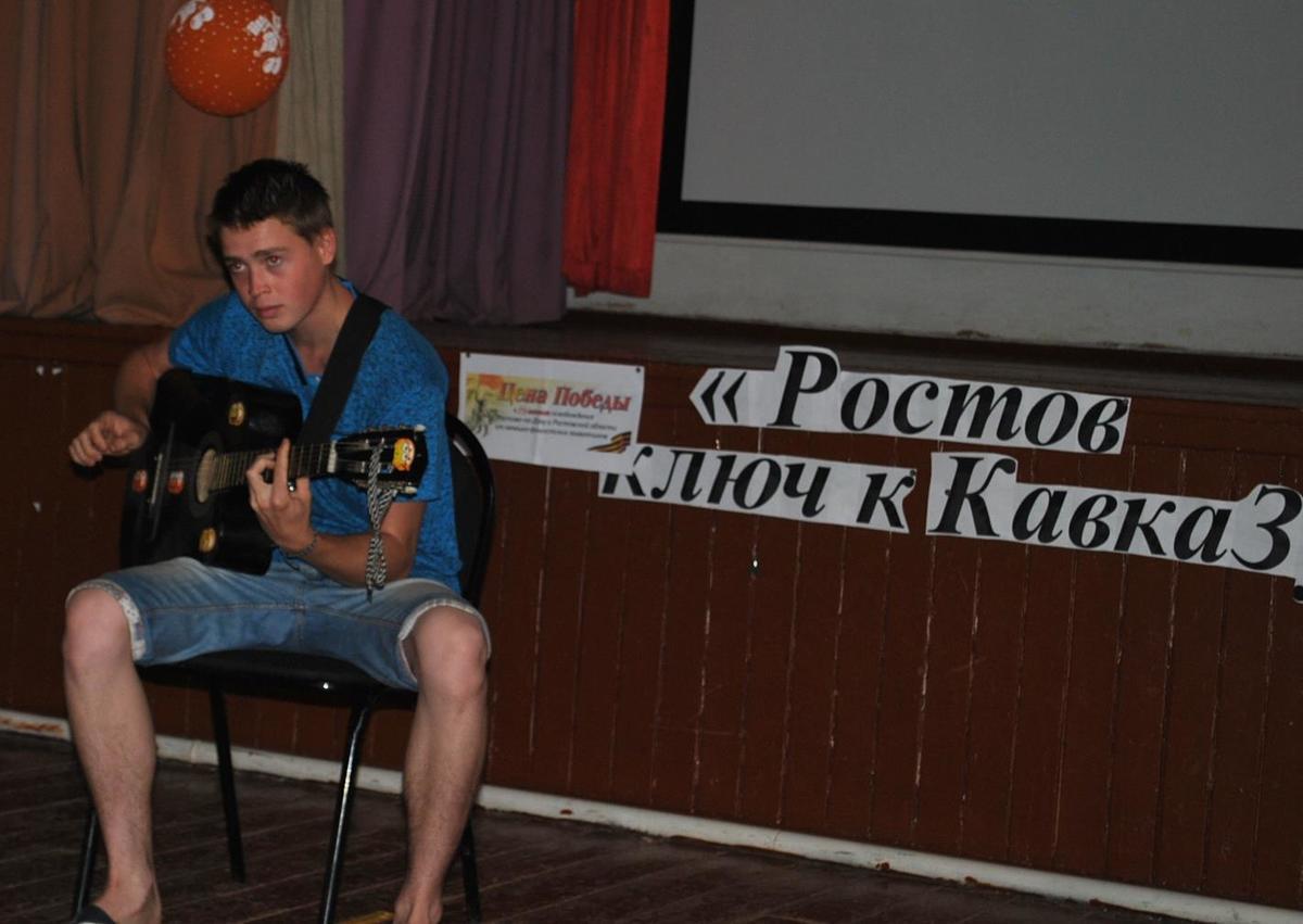 Беседу «Ростов-ключ к Кавказу» в Вишневке посвятили юбилею освобождения Ростовской области